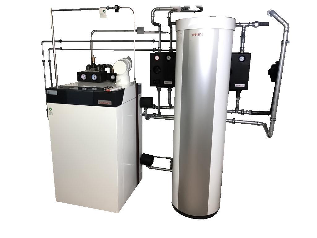 Moderne Heizungsanlage - Haustechnik Biancofiore
