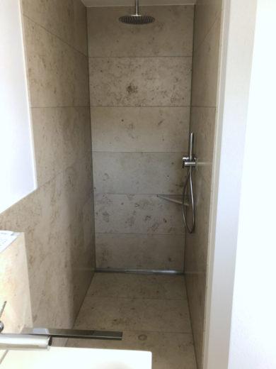 Moderne Regendusche Haustechnik Biancofiore