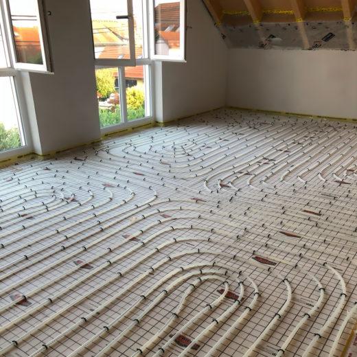 Fußbodenheizung installiert von Haustechnik Biancofiore