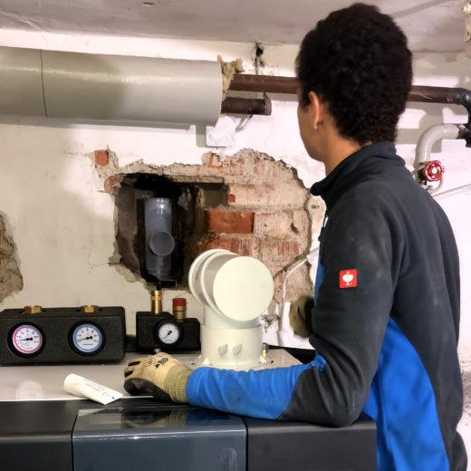 Installateur von Haustechnik Biancofiore