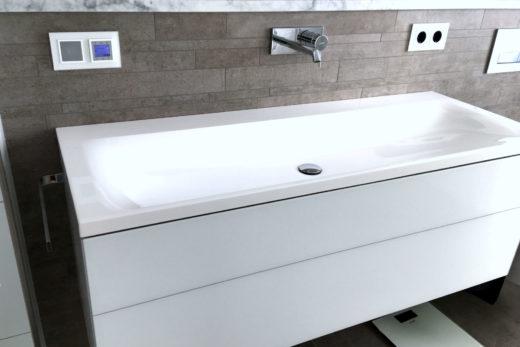 Design Waschtisch Sanitär Neubau Haustechnik Biancofiore
