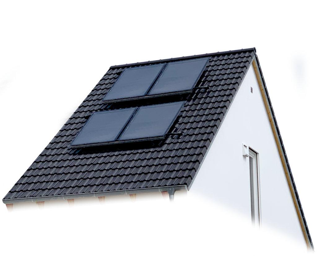 Beispiel Solarthermie Wohnhaus - Haustechnik Biancofiore