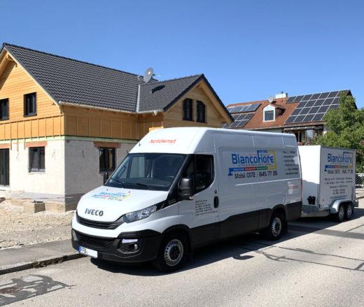 Iveco Transporter Biancofiore Haustechnik