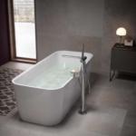 Formschöne Badewanne von Keuco